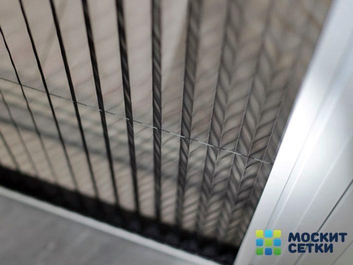 Москитные сетки Плиссе на алюминиевые окна