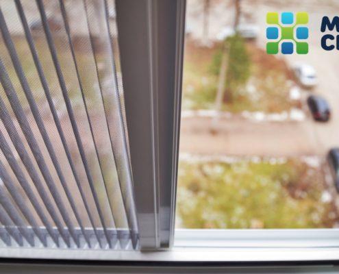 Москитные сетки Плиссе на пластиковые окна