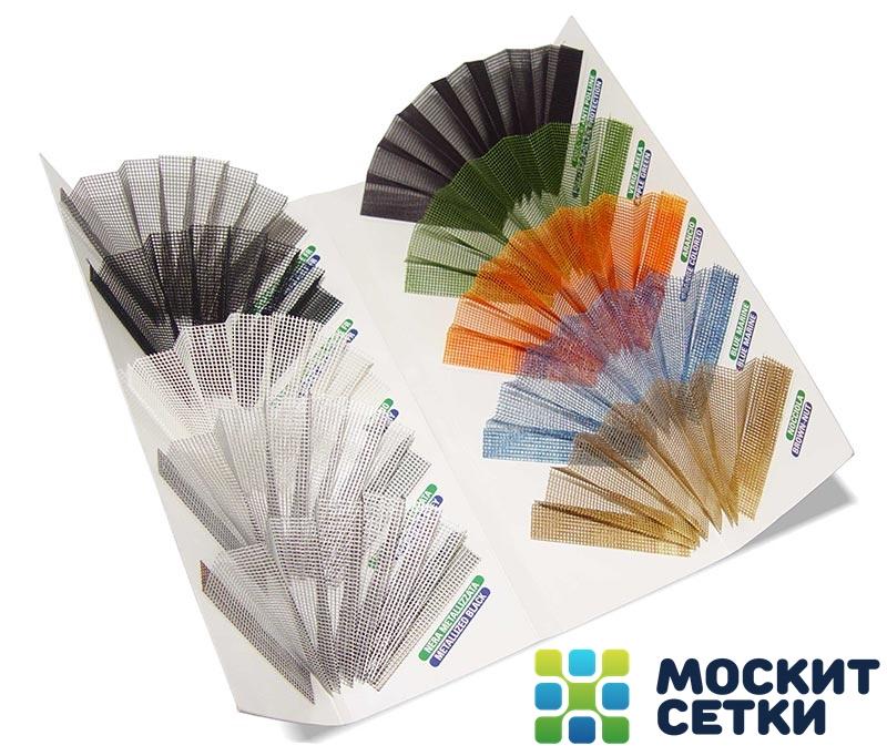 широкий цветовой спектр москитных полотен