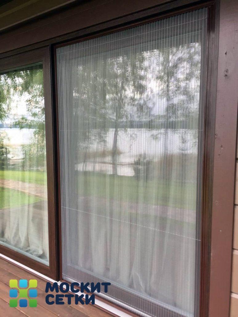Москитные сетки Плиссе на дверные и балконные проемы